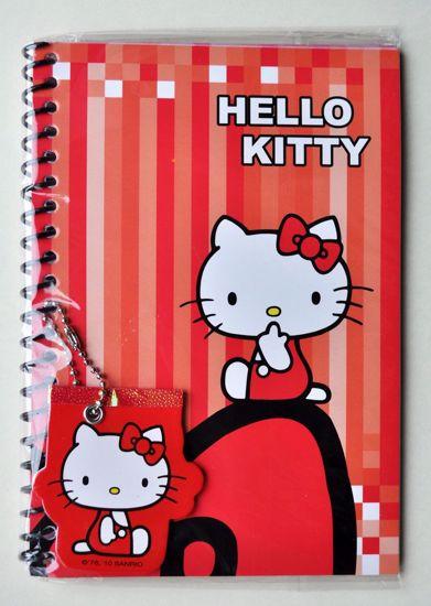 NPAD006 Hello Kitty Ringbound Note Pad