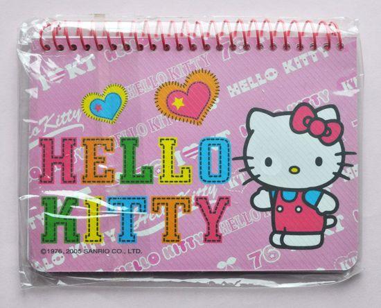 NPAD009 Hello Kitty Pink Mini Note Book