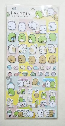 STIC201 Sumikogurashi Sticker Sheet - B