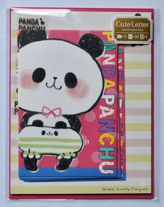 LETT137 PandaPanchu Letter Set