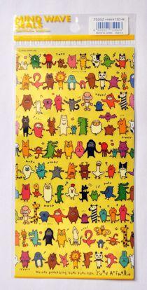 STIC406 Yuru Animal Sticker Sheet