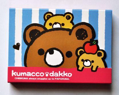 NPAD169 Kumacco Dacco Magnetic Notepad - B