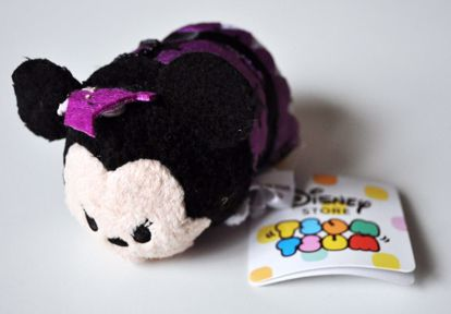 PLUSH192 Mickey and Friends Tsum Tsum Haloween Plushie /  Screen Cleaner - Minnie Mouse B