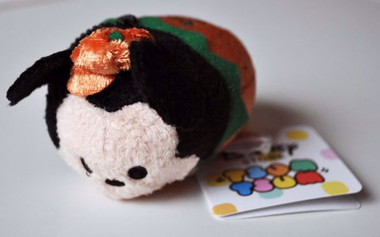 PLUSH193 Mickey and Friends Tsum Tsum Haloween Plushie /  Screen Cleaner - Mickey A