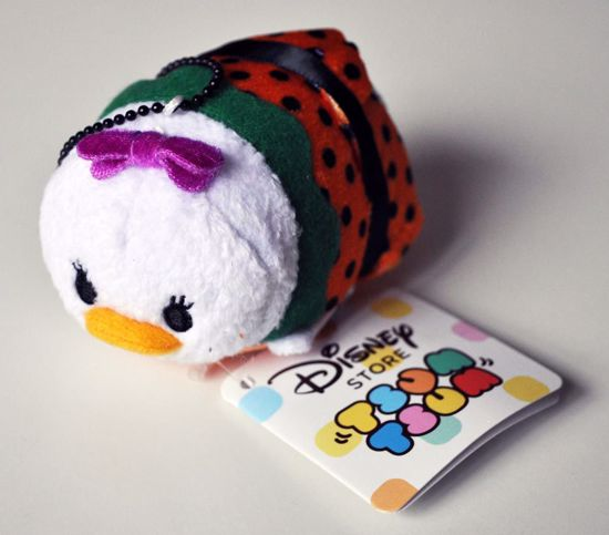 PLUSH195 Mickey and Friends Tsum Tsum Haloween Plushie /  Screen Cleaner - Daisy Duck A