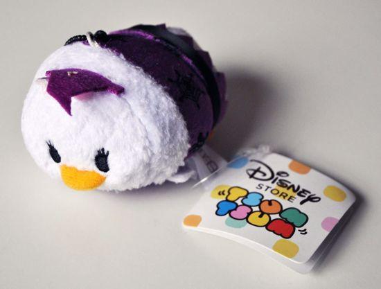 PLUSH196 Mickey and Friends Tsum Tsum Haloween Plushie /  Screen Cleaner - Daisy Duck B