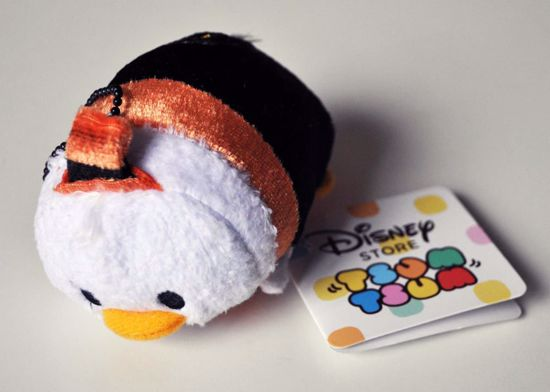 PLUSH198 Mickey and Friends Tsum Tsum Haloween Plushie /  Screen Cleaner - Donald Duck B