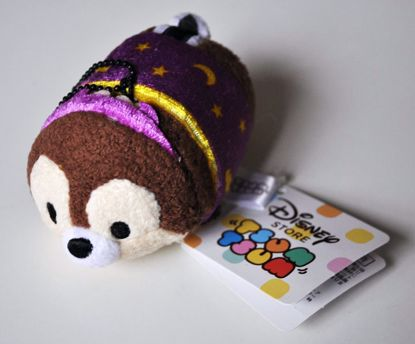 PLUSH201 Mickey and Friends Tsum Tsum Haloween Plushie /  Screen Cleaner - Chip