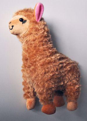 PLUSH206 Super Soft Cute Alpaca Plushie - Brown