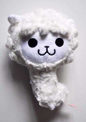 PLUSH208 Soft Pacalama Alpaca Plushie - White