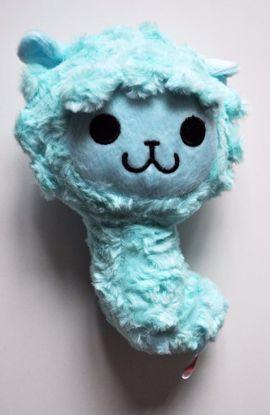 PLUSH210 Soft Pacalama Alpaca Plushie - Blue
