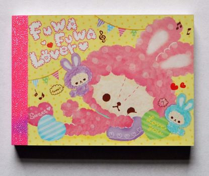 MINI234 Fuwa Fuwa Love Mini Memo Pad