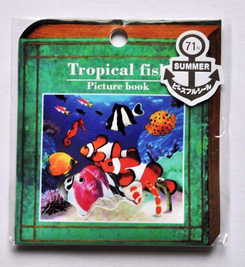 SACK250 Tropical Fish Sticker Flakes Sack