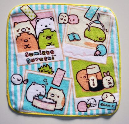 MISC814 Sumikkogurashi Photos Petit Flannel / Face Towel