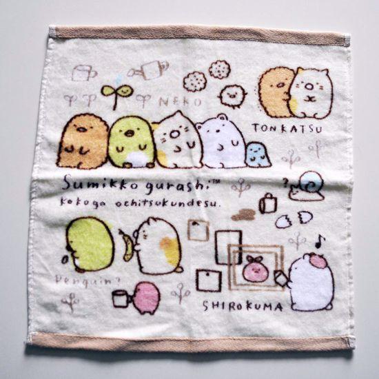 MISC817 Sumikkogurashi Small Hand Towel - A