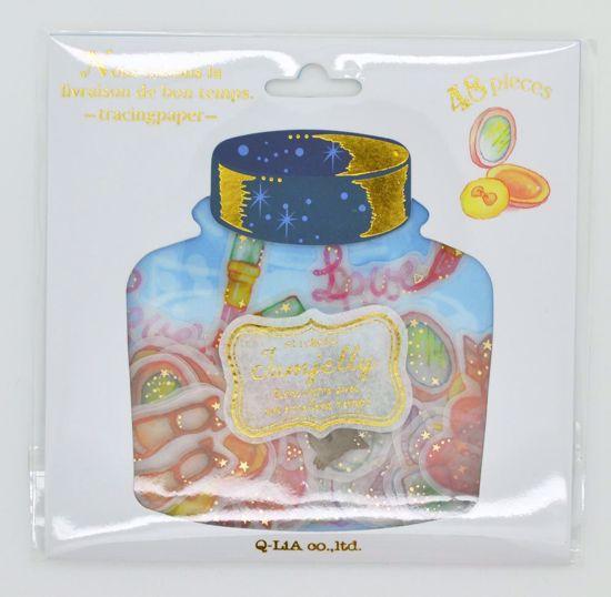 SACK276 Jam Jelly Sticker Flakes Sack - Girl's Perfume