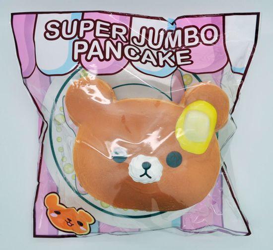 SQUISH677 Puni Maru Super Jumbo Pancake Stack Scented Squishy - Butter