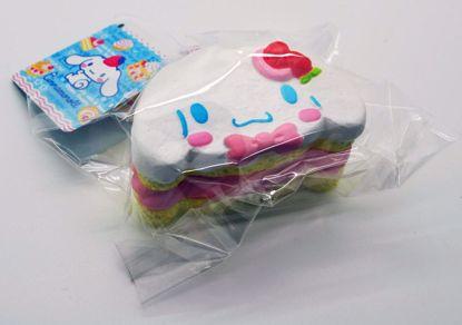 SQUISH834 Cinnamoroll Cake Roll Squishy - Strawberry