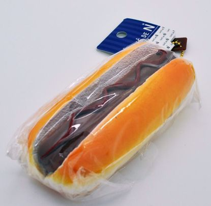 SQUISH1260 Cafe de N Bakery Super Soft and Slow Rising Hot Dog Squishy - Ketchup