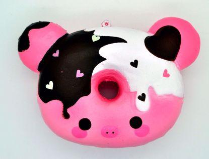 SQUISH1871 Puni Maru x Creamii Candy Super Soft and Slow Rising Scented Marshmellii Piggie Donut - Boy