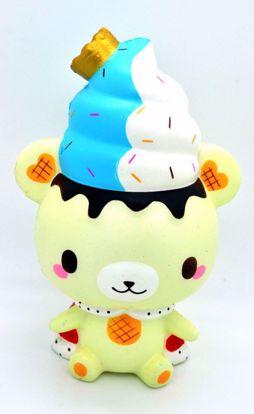 SQUISH1933 Puni Maru x Creamii Candy Super Soft and Slow Rising Scented King Yummiibear Squishy