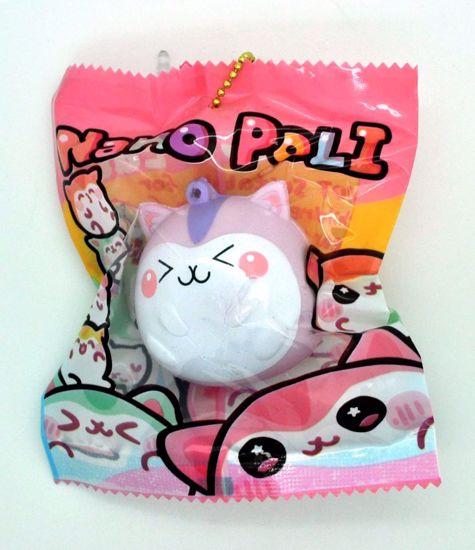 SQUISH2003 Popular Super Soft and Slow Rising Mini Nano Poli Squishy - Pink