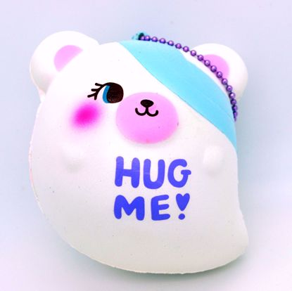 Buy NIC Super Soft and Slow Rising Scented Domiel HUG ME Halloween Mascot - White Ghost