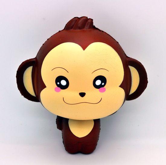 Buy Puni Maru Super Soft and Slow Rising Scented Cheeki Monkey Mascot Squishy - A