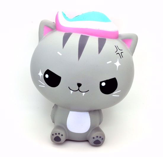 Buy Cutie Creative x Luna Tabby Super Soft and Slow Rising Jumbo Monster Minty Cat Squishy - Luna