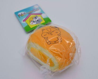Buy Popular Boxes Super Soft and Slow Rising Sleepy Poli Cream Bun Squishy - Orange