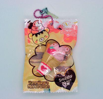 Buy Creamii Candy Super Soft and Slow Rising Yummiibear's Mini Ice Cream Series Squishy - Ice Cream A