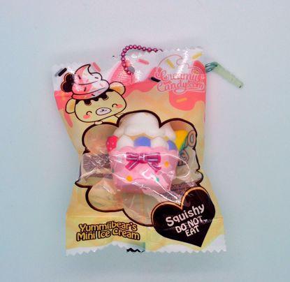 Buy Creamii Candy Super Soft and Slow Rising Yummiibear's Mini Ice Cream Series Squishy - Cupcake