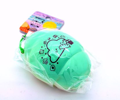 Buy Momocuppy Super Soft and Slow Rising Scented Bubu the Cloud Pastry Series Bread Roll Squishy - Turquoise