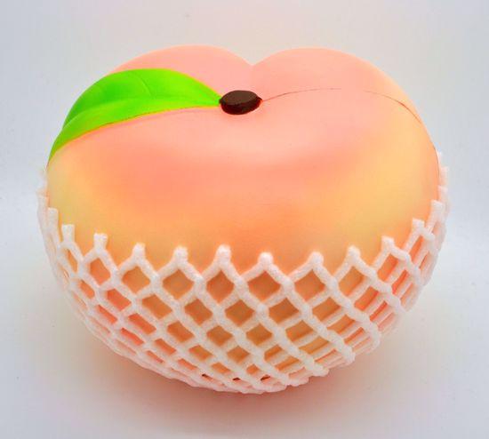 Buy Puni Maru Soft and Slow Rising Super Humongous Peach Squishy - Baby Super Jumbo Peach