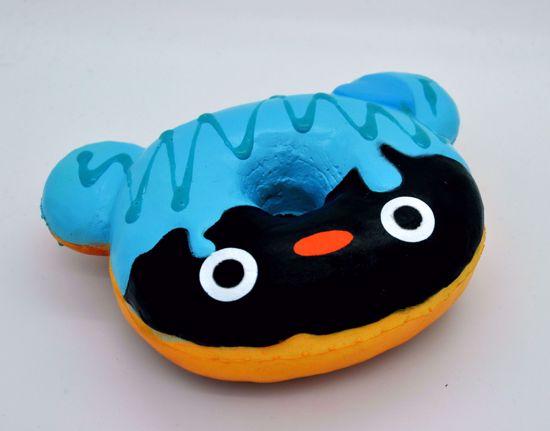 Buy Puni Maru x Creamiicandy x Estrellapatron Super Soft and Slow Rising Scented Mr Flippii Donut Squishy