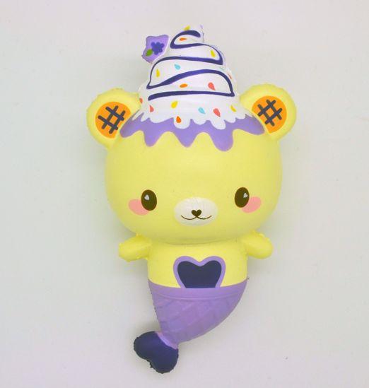 Buy Puni Maru x Creamiicandy Super Soft and Slow Rising Grape Scented Yummiibear Grape Mermaid Squishy