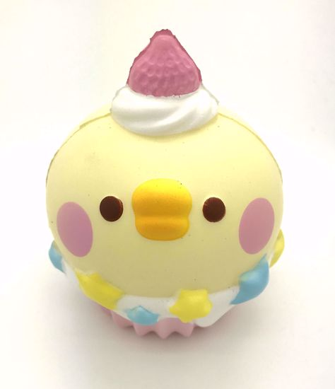 Buy Super Cute Soft and Slow Rising BIG! Animal Cupcake Squishy - Chick