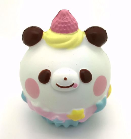 Buy Super Cute Soft and Slow Rising BIG! Animal Cupcake Squishy - Panda