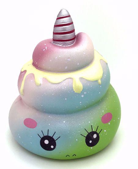 Buy Kiibru Super Soft and Slow Rising Unicorn Poop Squishy - B