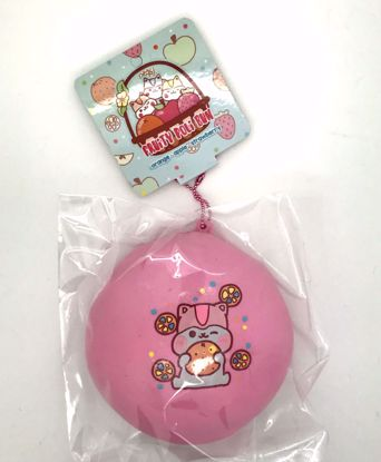 Buy Popular Super Duper Soft and Extra Slow Rising Jumbo Fruity Poli Bun Squishy - Orange Design Pink