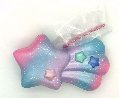 Buy iBloom Super Soft and Slow Rising Scented Aurora Twinkle Shooting Star Squishy - A