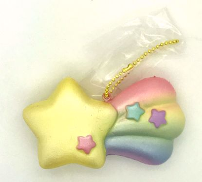 Buy iBloom Super Soft and Slow Rising Scented Aurora Twinkle Shooting Star Squishy - F