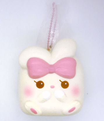 Buy iBloom Super Soft and Slow Rising Scented Angel Bunny Chigiri Squishy - Alice