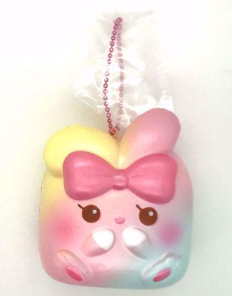 Buy iBloom Super Soft and Slow Rising Scented Angel Bunny Chigiri Squishy - Lisa