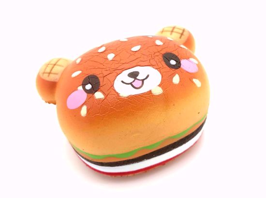 Buy Creamiicandy Super Soft and Slow Rising Super Mini Sweets Collection Squishy - Mini Yummiibear Burger