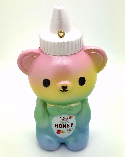 Buy Bunnys Café Super Soft and Slow Rising Scented Kumatan Hawaiian Series Honey Bottle Squishy