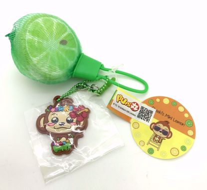 Buy Puni Maru Super Soft and Slow Rising Scented Cheeki's Mini Lemon Squishy - Green Lime