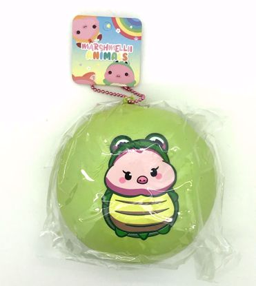 Buy Creamiicandy Super Soft and Slow Rising Fruit Scented Marshmellii Animals Jumbo Bun Squishy - Green - Turtle