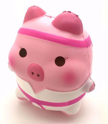 Buy Puni Maru x Creamiicandy Super Soft and Slow Rising Scented Jumbo Marshmellii Karate Pork Chop Squishy - Girl