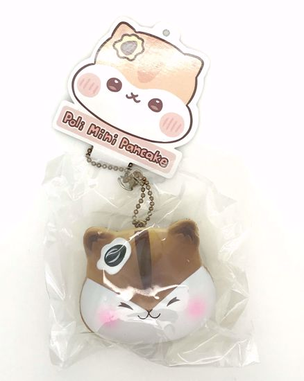 Buy Popular Super Soft and Slow Rising Scented Poli Mini Pancake Squishy - Chocolate